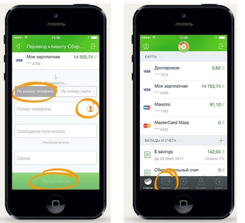 как пользоваться Сбербанк Онлайн с мобильного телефона