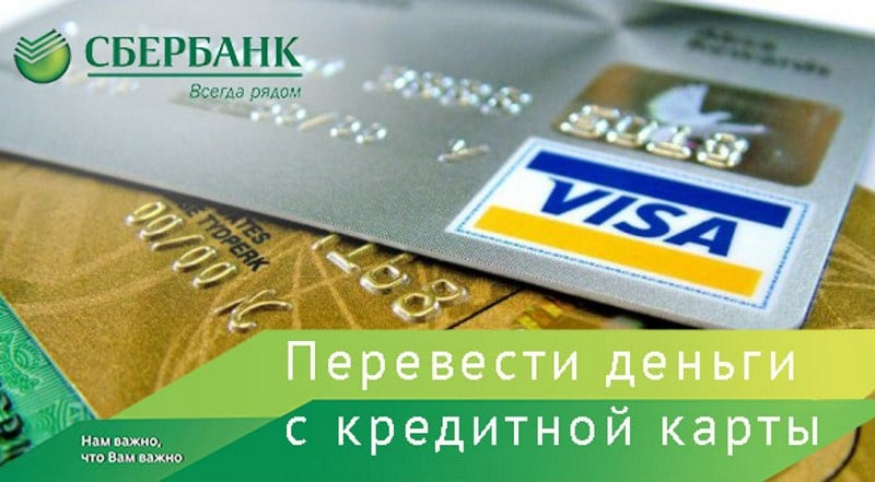 комиссия за снятие наличных с кредитной карты Cбербанка