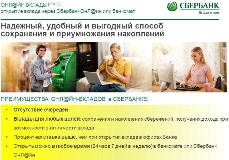 накопительный вклад Сбербанка России