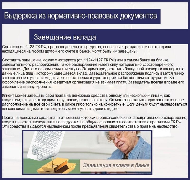 компенсация наследникам по вкладам Сбербанка