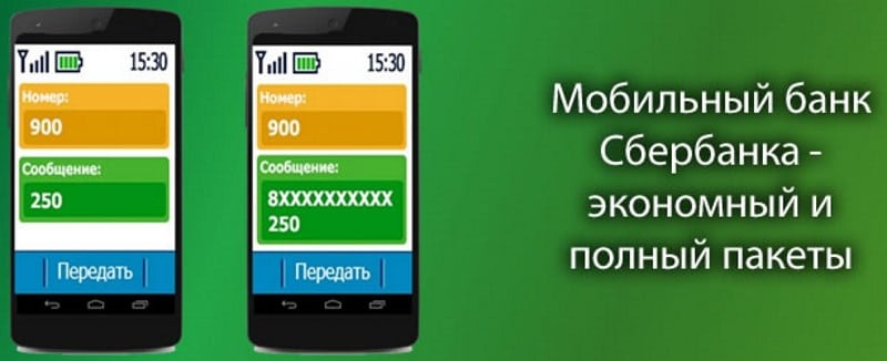 мобильный банк Сбербанка тариф экономный и полный отличия