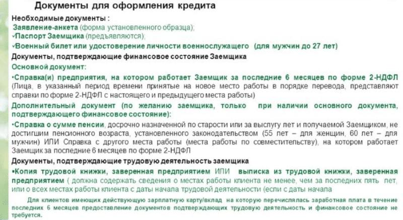 образец заполнения заявления на ипотеку Сбербанка