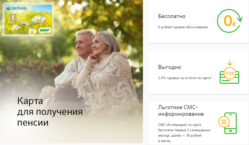 пенсионная карта МИР Сбербанка что это такое