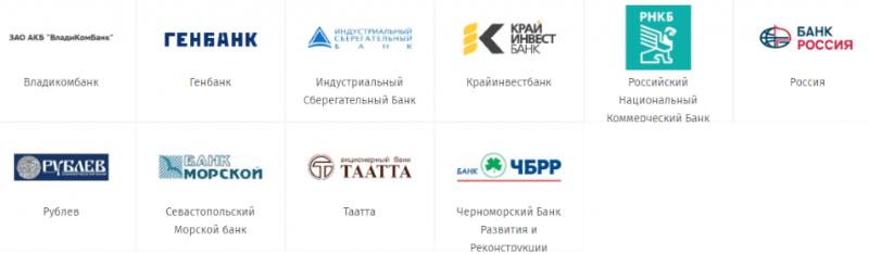 работает ли карта Сбербанка в Крыму