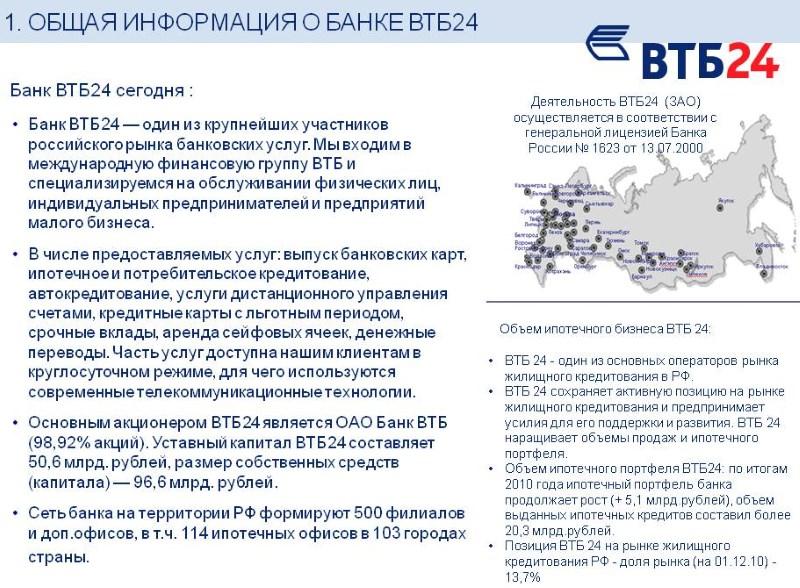 как расшифровывается банк ВТБ