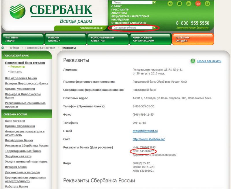 что такое корреспондентский счет Сбербанка России