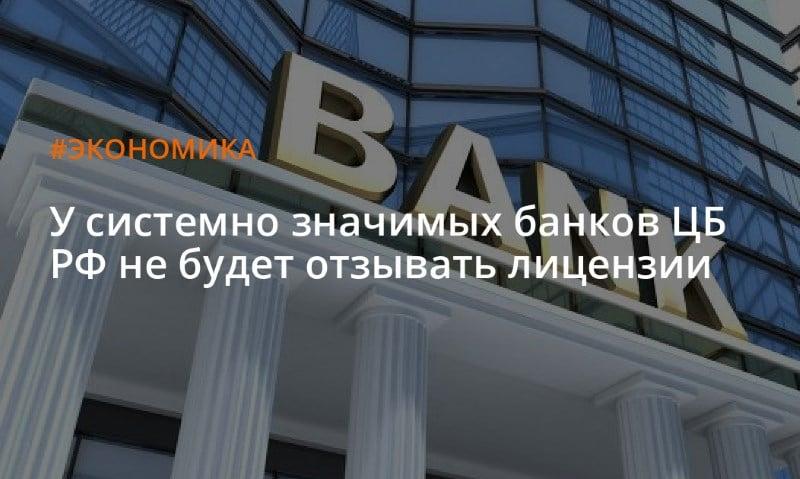 системно-значимые банки список
