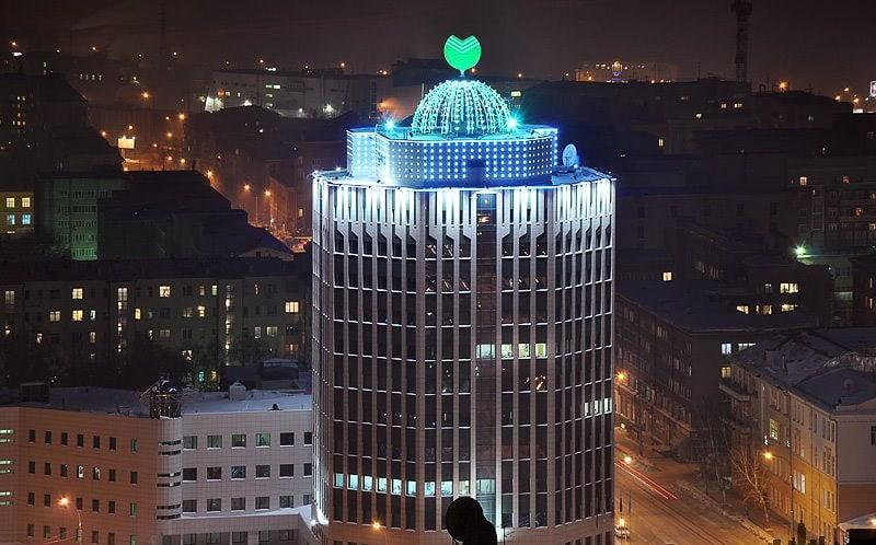 главный офис Сбербанка в Новосибирске