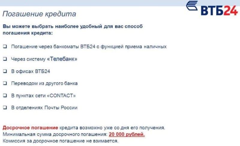 перечень партнерских банков ВТБ