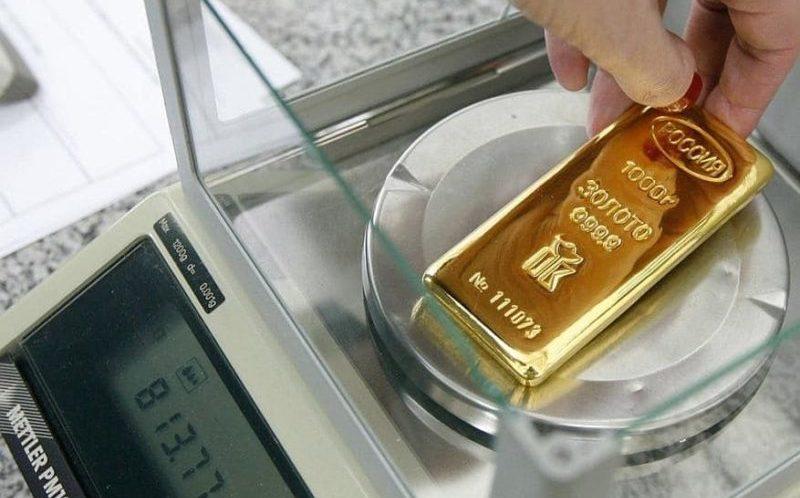 вес стандартного слитка золота