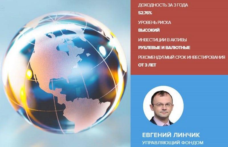 ПИФ Сбербанк Глобальный Интернет