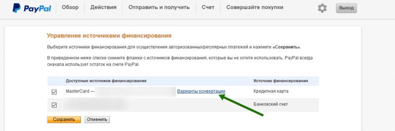комиссия Paypal за международный перевод