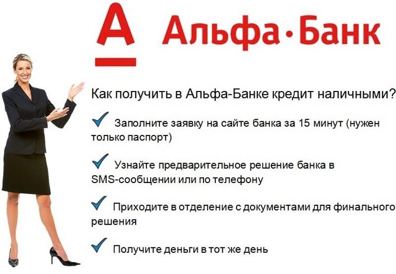 услуги Альфа-Банка физическим лицам