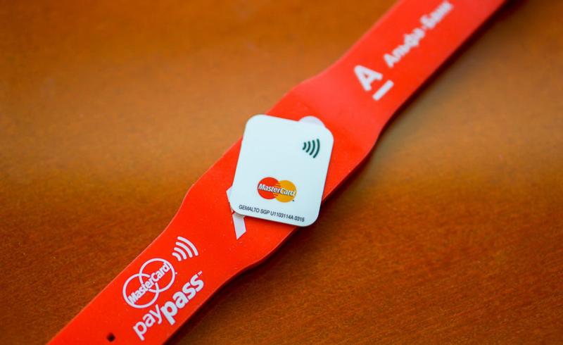 Альфа-Банк браслет PayPass