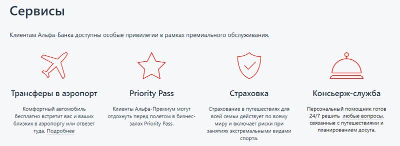 Альфа-Банк пакет услуг Оптимум