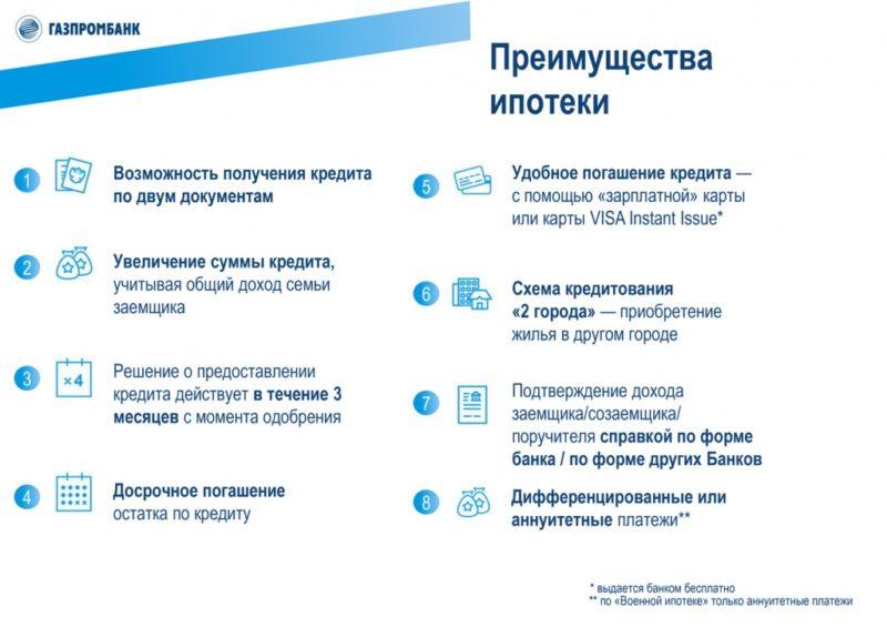 газпромбанк погашение кредита через интернет