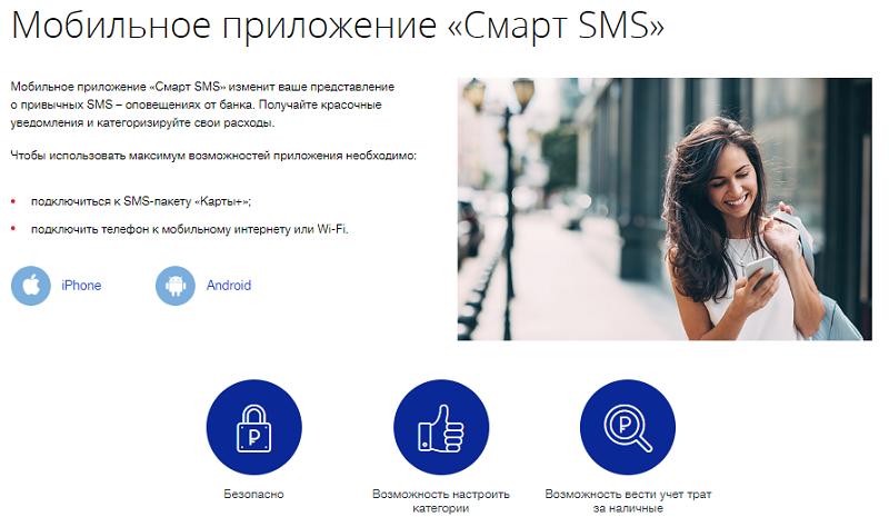 Смарт СМС ВТБ 24