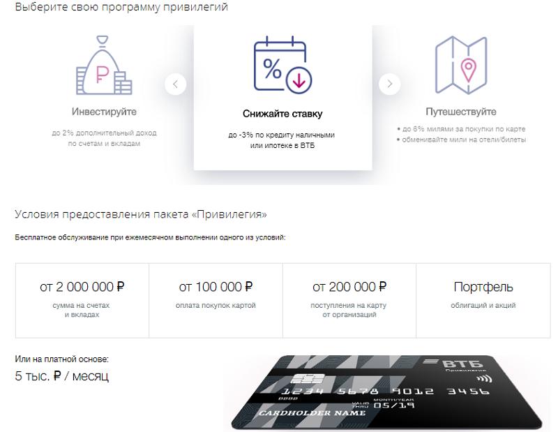 как оформить кредитную карту втб через интернет на 100 тысяч рублей
