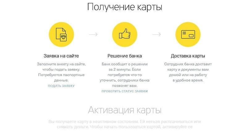 долларовая карта Тинькофф