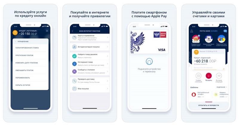как положить деньги на телефон с карты Почта Банка