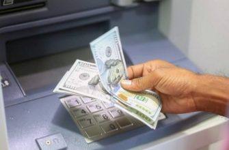 снять доллары в банкомате Тинькофф